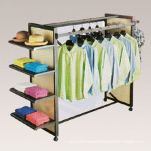 Supermarket Rack Exhibition Display Bedroom Furniture Store Display Cloth Hanger (GDS-036)