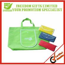 Fördernde kundengebundene Logo-faltbare Einkaufstaschen
