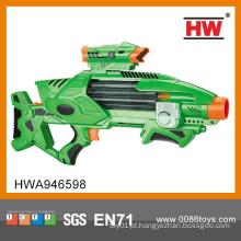 Soft Bullet Brinquedo Eletrônico Bateria Operado Gun com Balas