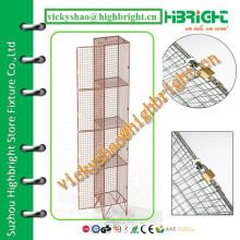 best quality swing door factory price wire mesh locker
