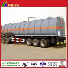 Битума Tanke асфальт танкер прицеп с объемом Факультативного