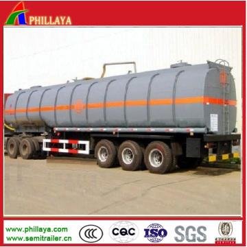 Asfalto asfalto Tanke cisterna acoplado con volumen opcional