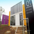 luxury steel structure prefab shipping container house