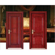Luxuosa porta de madeira sólida especial