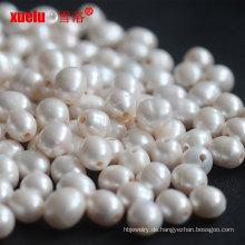 12-15mm Reis Süßwasser lose Perlen Perlen Big Hole Großhandel