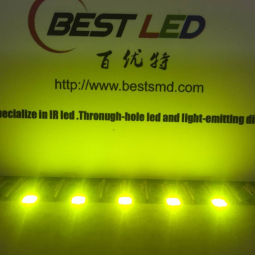 2835 SMD LED Gul Grön 570nm LED