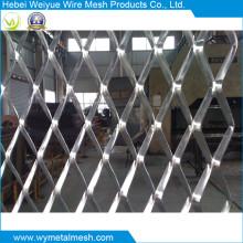 Feuille de métal déployé en acier inoxydable