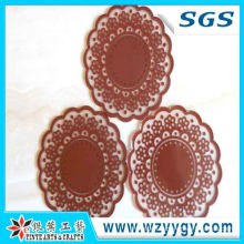 2013 Popular Promotional Soft PVC/Soft Rubber Cup Coaster