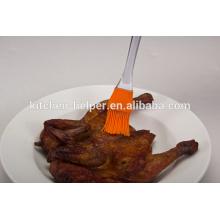 Venda Por Atacado Preço de Fábrica Resistência ao Calor Resistente ao Calor Silicone Non-stick Basting & Pastry Brush