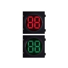 2 Digital LED Traffic Light Countdown Timer