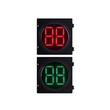 2 - Minuterie de compte à rebours numérique 300mm LED Feu