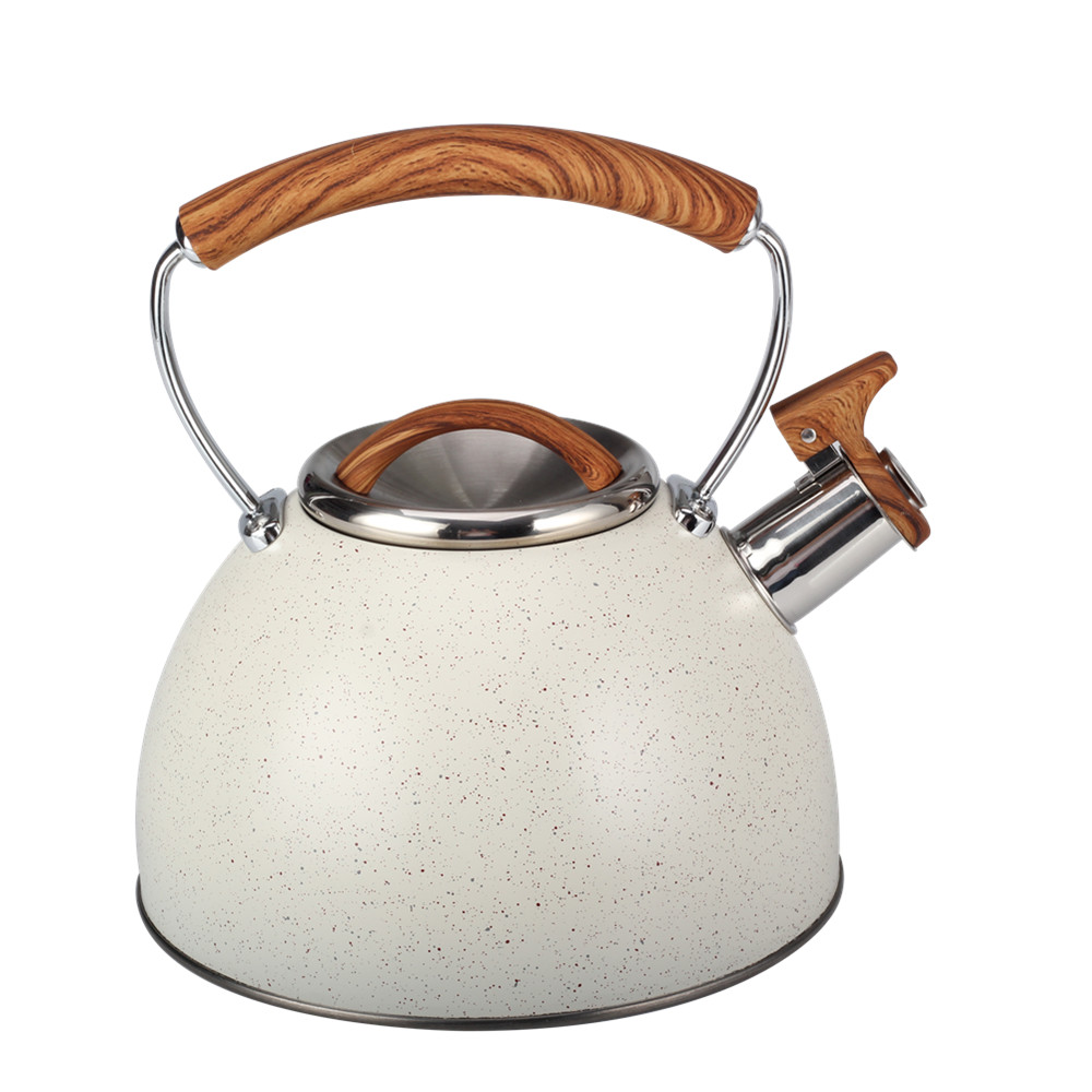 With Little Spots High Quality Stainless Steel Whistling Kettle