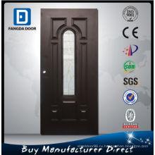 Фанда Дешевые Наружные Двери, 7 Панелей Стали Стеклянная Дверь
