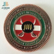 Изготовленный на заказ сувенир логотип Античная бронзовая металл память монета для военной полиции