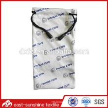Индивидуальный чехол для очков логотипа; Рекламная сумка; Чехол из микроволокна