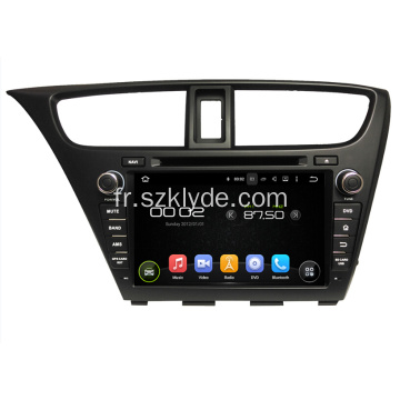 Honda Car DVD GPS Player pour Civic Hatchback
