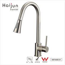 Haijun China Manufacturer cUpc Single Handle Deck Mounted Kitchen Sink Faucet