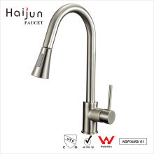 Haijun China Fabricante cUpc Single Handle Deck Mounted Kitchen Sink Faucet