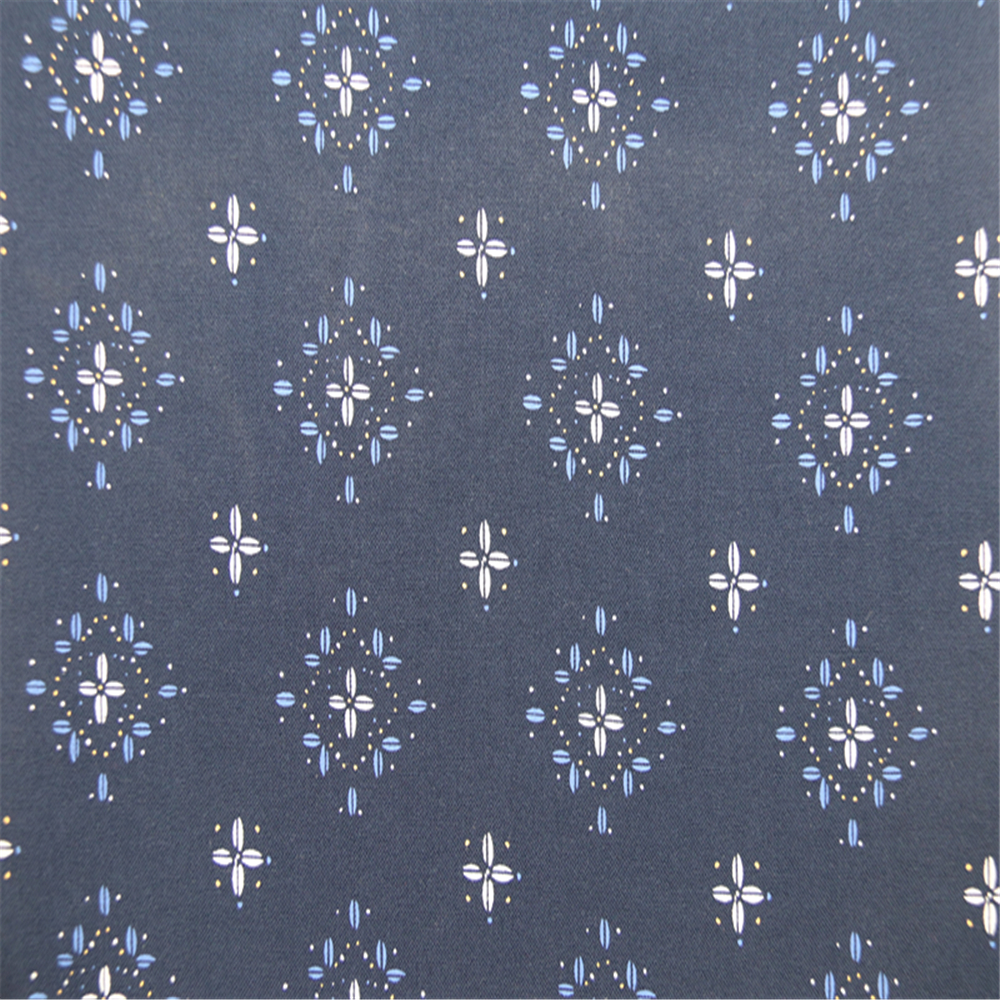 Small flower printed rayon