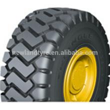 China durable otr tire Hilo marca para la venta del neumático del cargador 23.5R25