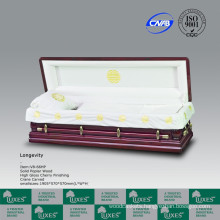 LUXES Full Couch Casket For Funeral