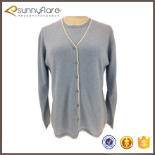 New design wool cashmere ladies beautiful sweater suits