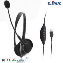 OEM Gaming USB Headset with Microphones for Skype