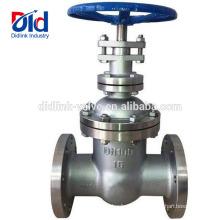 Contrôle résilient de coin de Clow de piscine fileté en acier inoxydable de robinet à vanne Din3352 Pn16 de 4 pouces