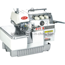 Overlock Sewing Machine with Back Latching Seaming