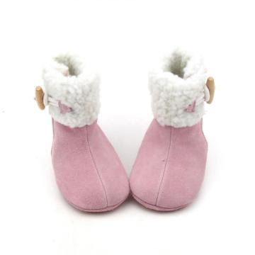 Winter Pink Baby Girl Boots Pasgeboren Eerste Walker