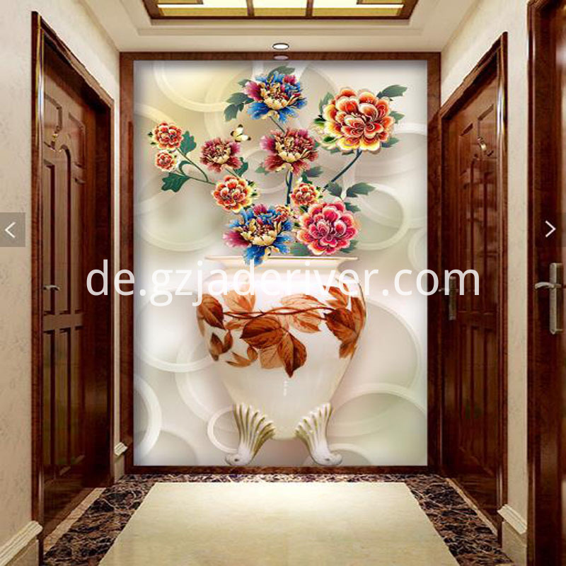 Marble Tile Artwork for Background Screen Wall