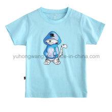 T-shirt imprimé promotionnel pour enfant en coton