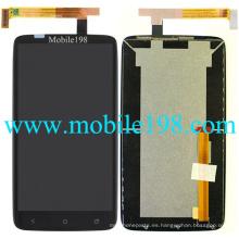 para HTC One X + S728e Pantalla LCD con pantalla táctil
