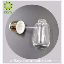 30 ml luxus klar farbige leere ätherisches öl grundierung kosmetische verpackung glas tropfflasche mit press dropper