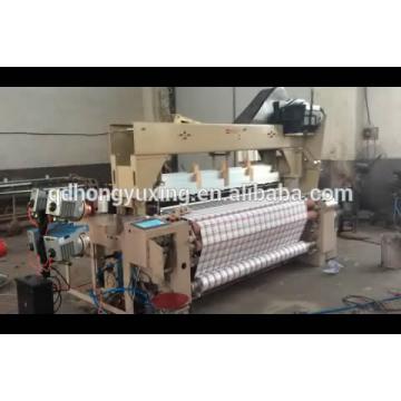 Сверхмощный и высокоскоростной ткацкий станок с воздушной струей / воздушно-струйный станок / ткацкий станок с пневмодвигателем с питателем ROJ и кареткой STAUBLI