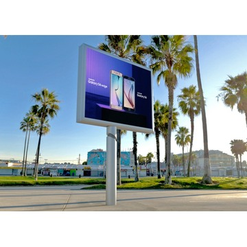 P6 SMD2727 Hoge resolutie buiten reclamebord LED-display
