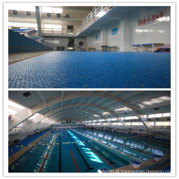 O fabricante profissional de revestimento de piscina anti-derrapante para interior / exterior usado