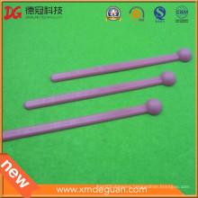 OEM Factory Hot Sale Bulk Lab Plastic Anti-Static Pink Spoon