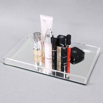 APEX Clear Makeup Storage Acryl Dienbladen