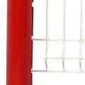 pvc coated bending bamboo vinyl fence panel