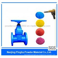 Revestimento em pó industrial de resina de poliéster