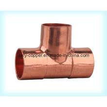 Tête égale certifiée ISO9001 en cuivre (AV8010)