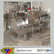 Plastic Food Packing Sterilizer Autoclave Retort