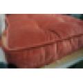 Coussin 100% polyester en velours côtelé / coussin de sol / chaise