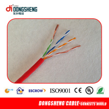 Cable LAN Cat5e con CE RoHS ISO UL