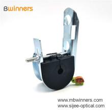 Câble de suspension ADSS avec pince de suspension en crochet J