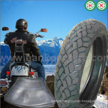 Butyl Tyre Motorcycle Tire with Tube and Flap
