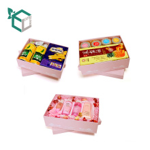Matt Lamination Paper Box With Logo Design For Snacks And Skin Care