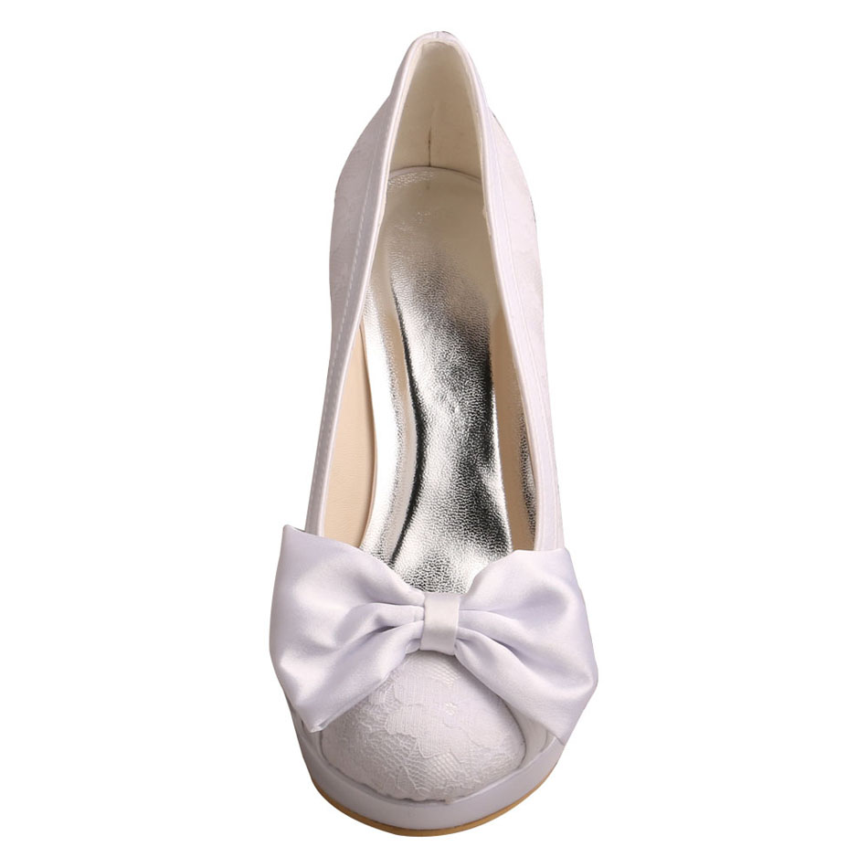 Bridal Shoes Bowtie
