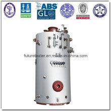 Calentador de vapor marino del tubo del Pin vertical